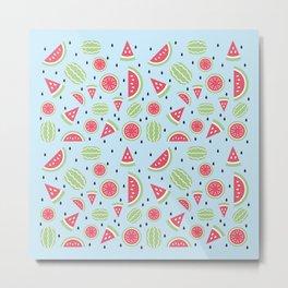 Seedless Watermelon Metal Print