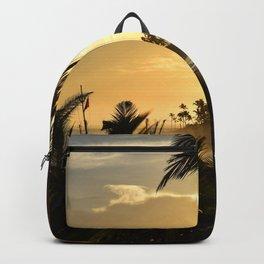 Photo 33 beach palm trees Backpack