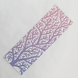 Fan Coral – Rose Quartz & Serenity Yoga Mat