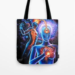 Finding Light Tote Bag