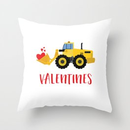 I'm Digging Valentines Cutes Lovers Hearts Day Throw Pillow