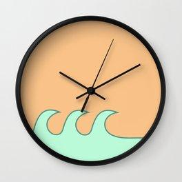 Sea Foam-o Wall Clock