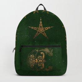 Hunter and Gold Celtic Backpack