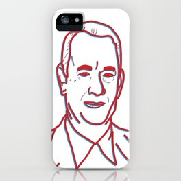 TomHanks3D iPhone Case