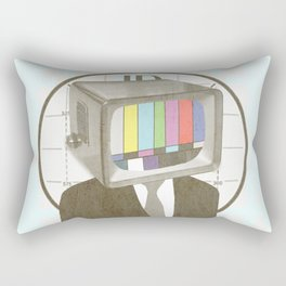 Please Stand By Rectangular Pillow