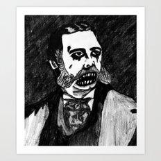 21. Zombie Chester A. Arthur  Art Print