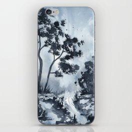 Blue Landscape  iPhone Skin