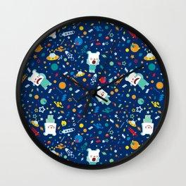 SHANHAIJING-BreadBear-HAI (Space & Aliens) Wall Clock