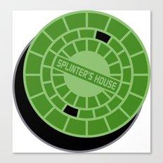 Splinter's house Canvas Print