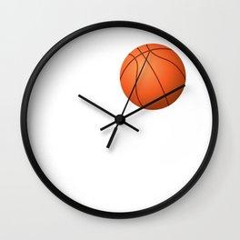 Love Basketball Wall Clock