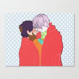 Victuuri Christmas Canvas Print