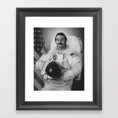 Bill Murray is an Astronaut  Framed Art Print