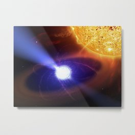 Casey Reed - White Dwarf Star in the AE Quarii System (2007) Metal Print