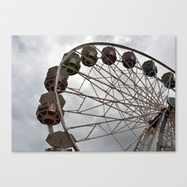 Ferris Wheel (full, unfiltered)  Canvas Print