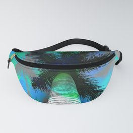 Tropical palms Fanny Pack