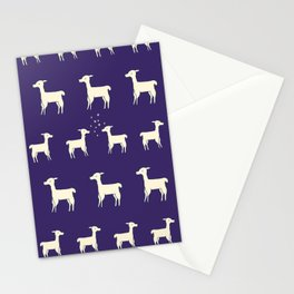 ALPACAS IN LOVE Stationery Cards