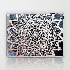 BLUE BOHO NIGHTS MANDALA Laptop & iPad Skin
