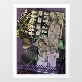 medically induced croton coma Art Print