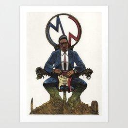 Muddy Waters Art Print