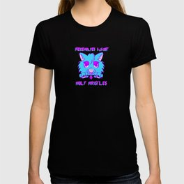 Werewolves against wolf whistles T-shirt