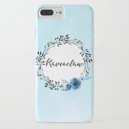 HP Ravenclaw in Watercolor iPhone Case