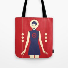Isolde Red Tote Bag