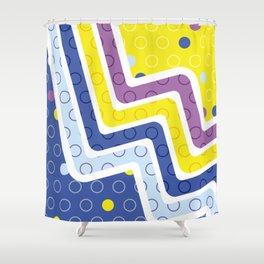 Geometric Figures 5 Shower Curtain