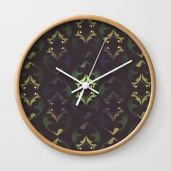 Heart Forest Wall Clock