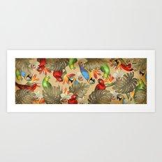 Birdland print Art Print