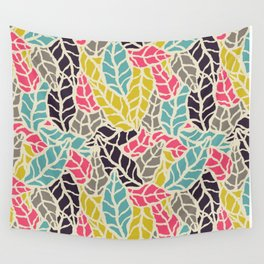 Nature leaves 003 Wall Tapestry