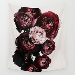 Ranunculus Bouquet - Pink Floral Flower photography by Ingrid Beddoes Wall Tapestry