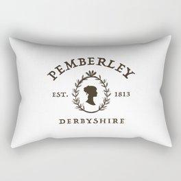 Pemberley 1813 - Pride And Prejudice - Jane Austen Rectangular Pillow