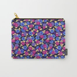 Happy Night Ditsy Floral Carry-All Pouch