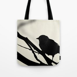 Silhouetted Bird Tote Bag