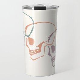 Triplet Skulls Travel Mug