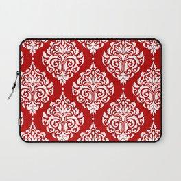Red Damask Laptop Sleeve