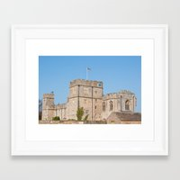 snape Framed Art Prints featuring Snape Castle by Imager