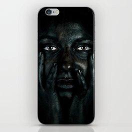 Black 03 iPhone Skin