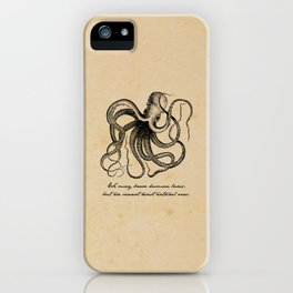Jules Verne - 20000 Leagues Under the Sea iPhone Case