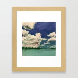 Wilmington River at Bonaventure Cemetery Framed Art Print
