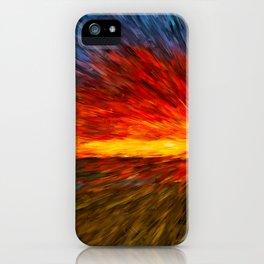 sun rays iPhone Case