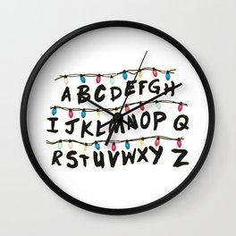 Stranger T - Wall Wall Clock