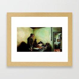 Hitler's Last Hour Framed Art Print