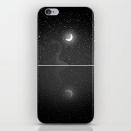 Nessie Starry Night - Loch Ness Monster iPhone Skin