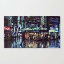 Tokyo Nights / Blade Runner Vibes / Rain / Liam Wong Canvas Print