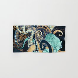 Metallic Octopus II Hand & Bath Towel