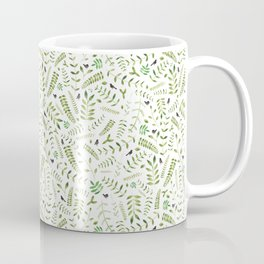 The Birds and the Leaves Coffee Mug