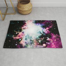 Orion Nebula Deep Pastels Muted Rug