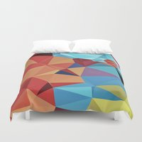 peace Duvet Covers featuring inner peace by contemporary