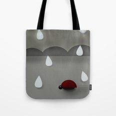 Run Lady Bug Tote Bag